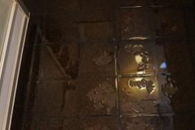 DIY シリーズ 8回目 玄関のコルクタイル貼り