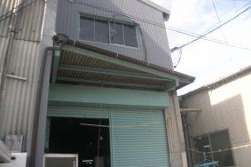 台風被害による修理依頼